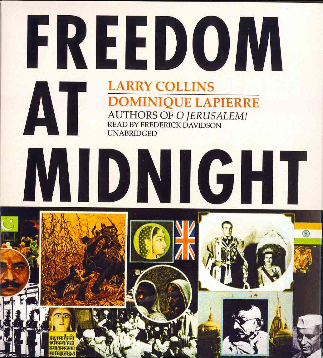 [CD] Freedom at Midnight By Lapierre, Dominique/ Davidson, Frederick (NRT)